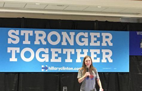 Chelsea Clinton visits UWL, Tuesday