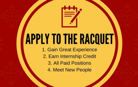 Apply to The Racquet Today!