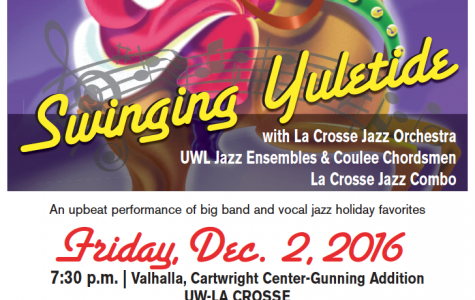 Support UW-L Jazz Members at Holiday Show
