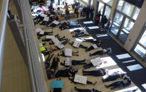 Breaking News: UW-L Students Protest Against Hatred and Trump