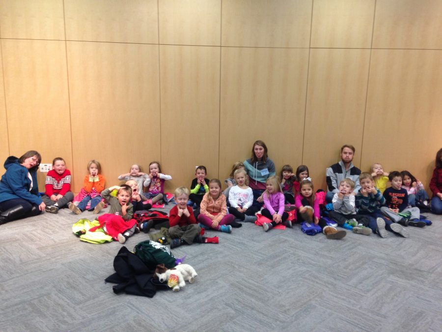 Child Care Center Provides Entertainment for OCW