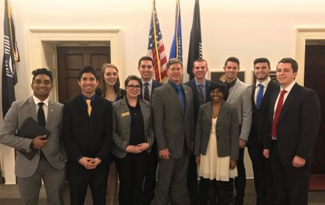 Student Senators Tackle Issues in D.C