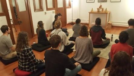 Diamond Way Buddhist Club: Providing Space to Meditate