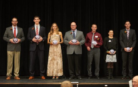 Seven Inducted into Athletic Wall of Fame