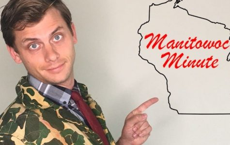 Manitowoc Minute host Speaks to Students at UWL