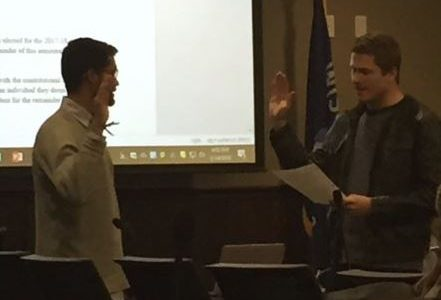 Student Association Elects New Vice President