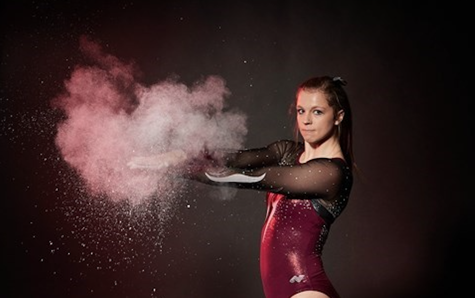 UWl gymnast Dani Barmore. Retrieved from uwlax.edu.