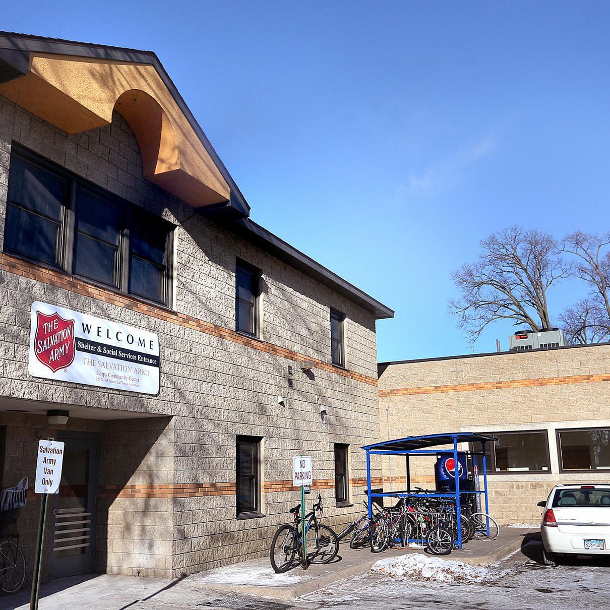 Salvation Army in La Crosse. Photo by the La Crosse Tribune.