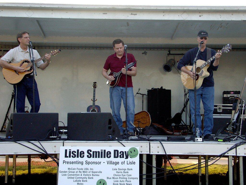 Larry (left), Dan (center) and John (right) Modaff. Courtesy of Dan Modaff.