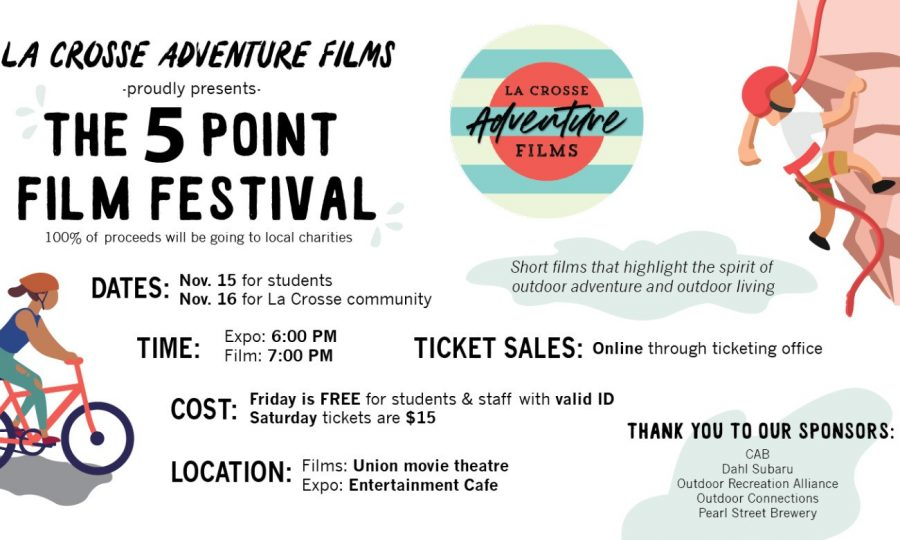 5 point film festival advertising