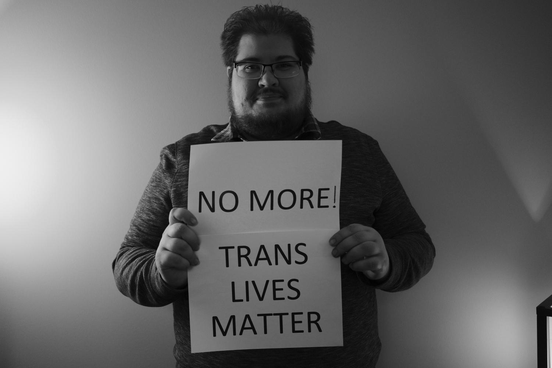 Graduate Assistant for the Pride Center, Garrett Denning. Photo retrieved from the UWL Pride Center.