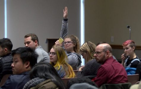 Students pose questions surrounding transparency and support at Chancellor Gow's open forum