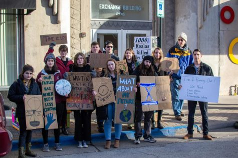 Photo Series: UWL student recounts experience at Keystone Pipeline protests