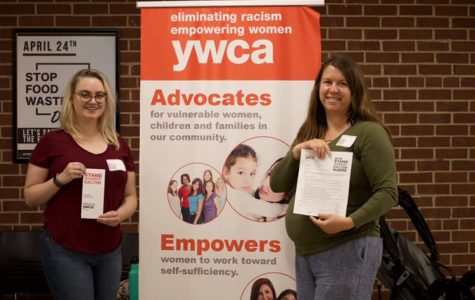 Humans of UWL: YWCA volunteers