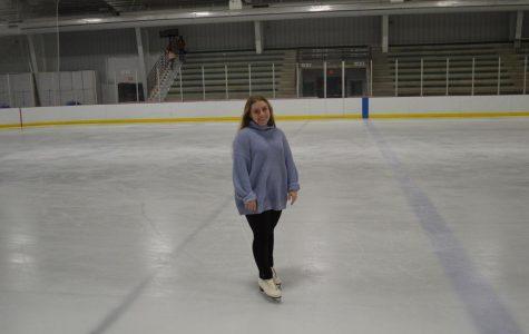 Jocelyn Buchholtz figure skating. Photo taken by Julia Balli.