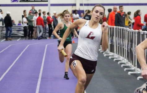 Savannah Rygiewicz, junior short sprinter.