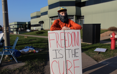 Photo Series: Local family protests against COVID-19 restrictions