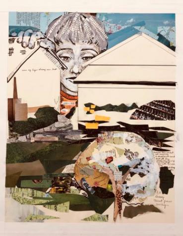 """UWL senior art student, Molly Korinek: """"Memory."""""""