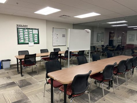 Empty Murphy Learning Center. Photo by Alison Obright