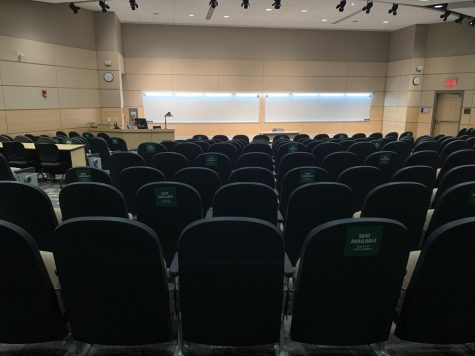 Centennial lecture hall. Photo taken by Jenna Dinkel.