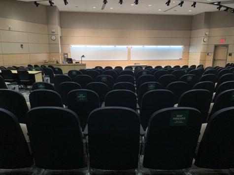 Centennial lecture hall. Photo taken by Jenna Dinkel.