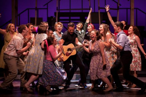 UWL Theatre Department production of All Shook Up. Photo retrieved from Krista Shulka