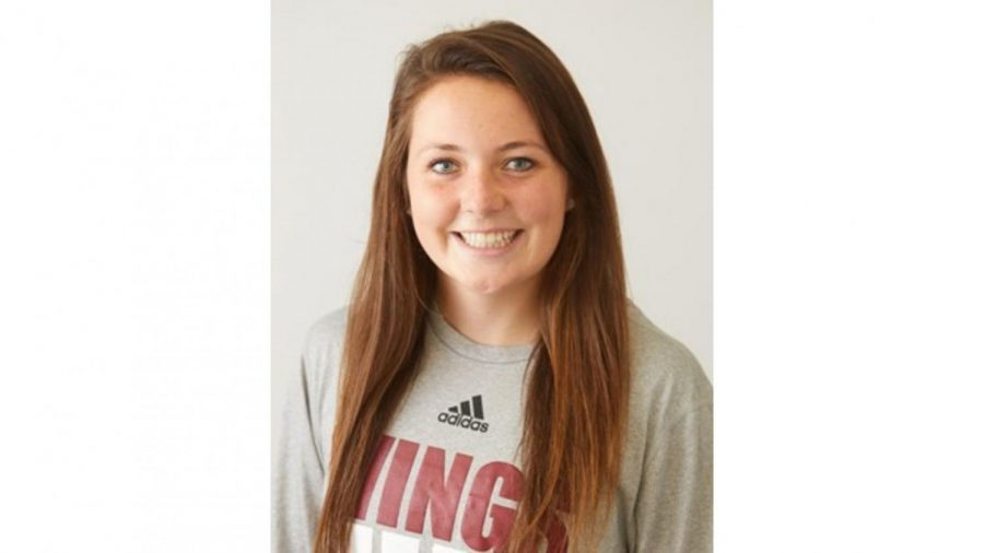Courtney Conway. Photo retrieved from UWL athletics website.