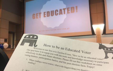 Greek Life: Educate the Vote