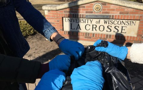 UWL's First Campus Clean-Up