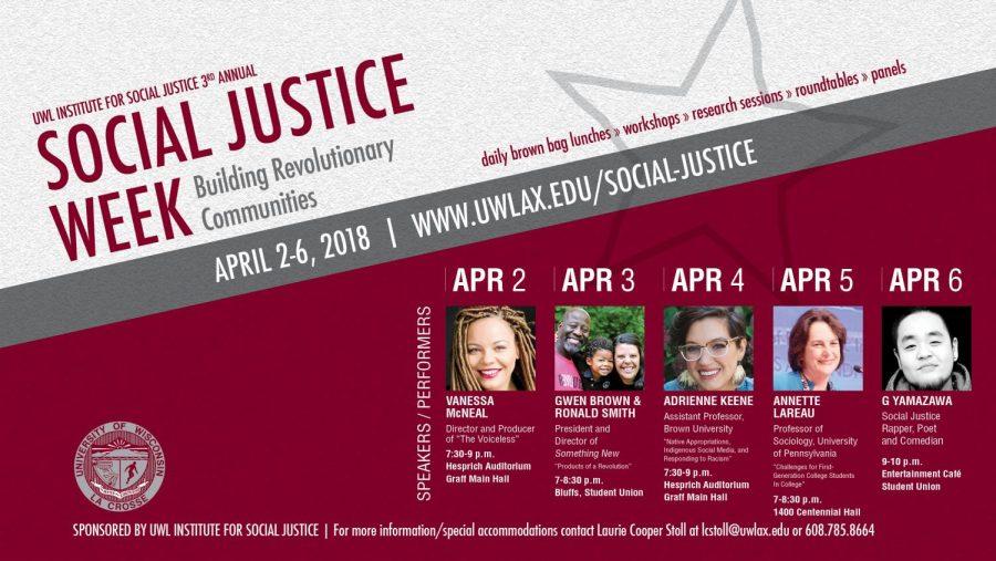 UW-La+Crosse%27s+3rd+Annual+Social+Justice+Week