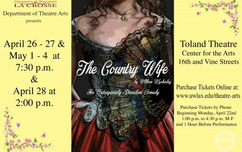 The Country Wife is coming to the UWL theatre department