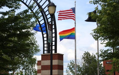 UWL Raises Pride Flag for First Time