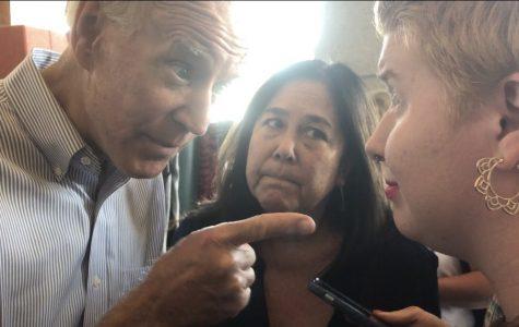 UWL Student K.C. Cayo's Viral Interaction with Presidential Candidate Joe Biden