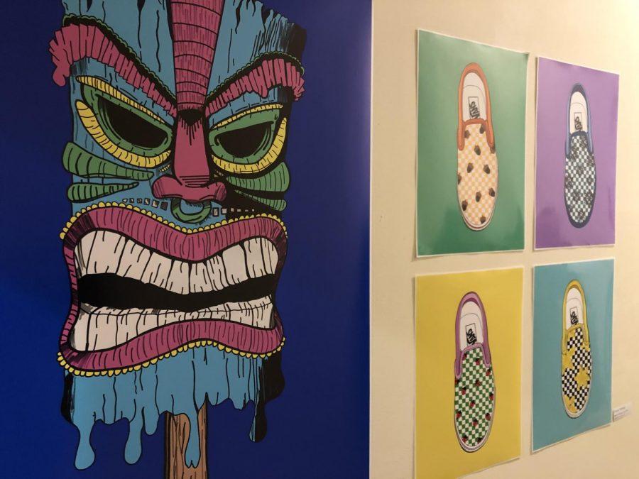 Graphic design exhibition features UWL students