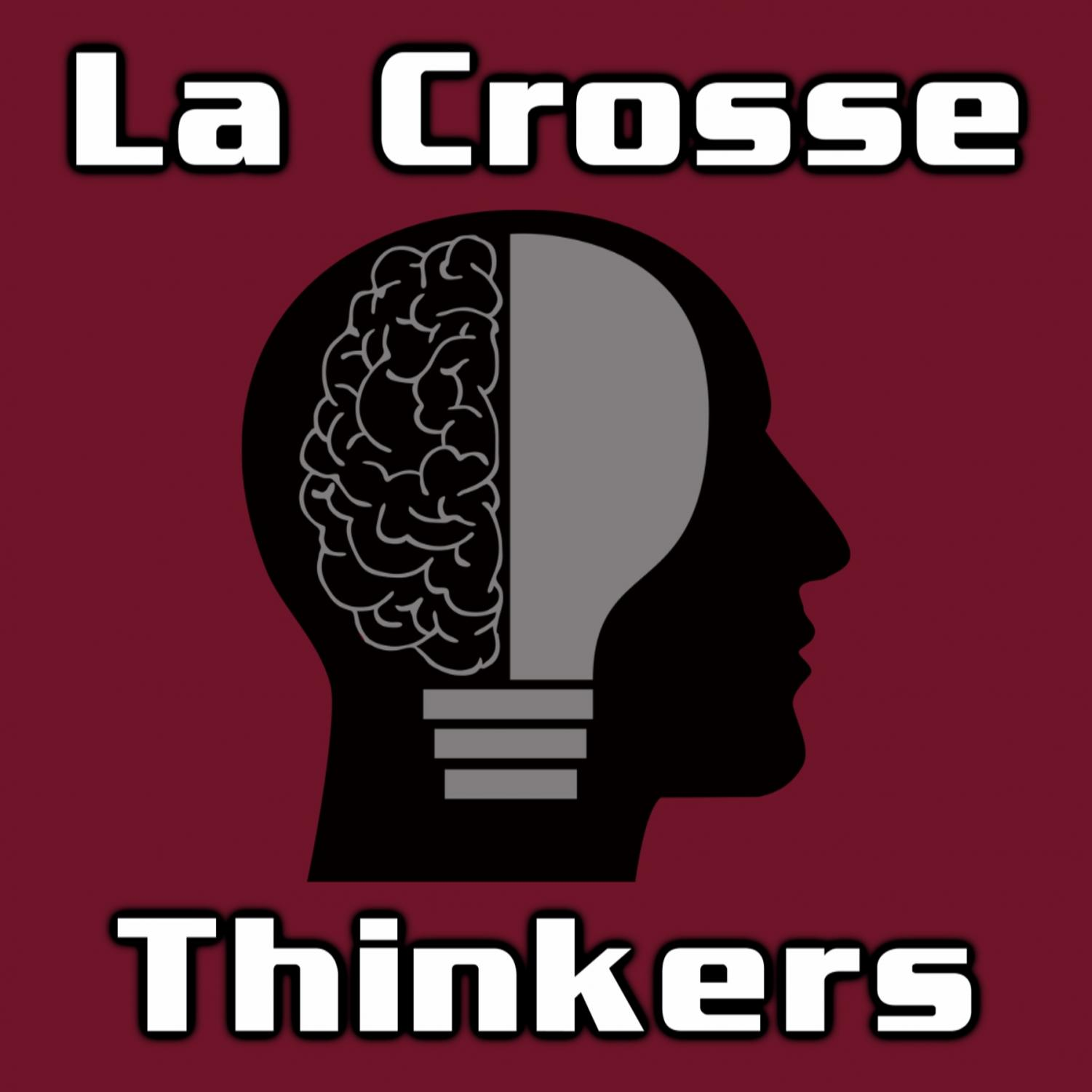 La Crosse Thinkers podcast logo. Photo retrieved from Song Chen.