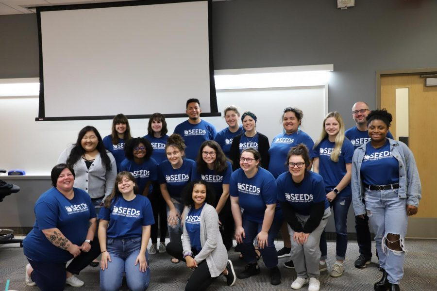 2019-2020 SEEDs members and advisers. Not pictured, Emily Stoll.