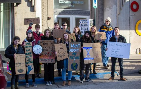 Photo Series: Climate Protest outside Representative Ron Kind's office