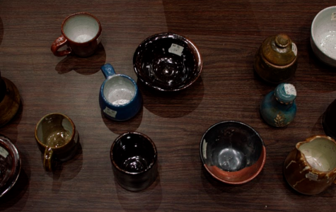 Photo Series: Prints and pots sale