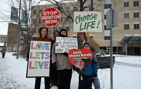 """Photo Series: """"Right to Life"""" anti-choice demonstration"""