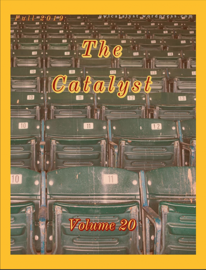 The cover for Volume 20 of The Catalyst.