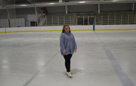 Jocelyn Buchholtz figure skating. Photo taken by Julia Balli.