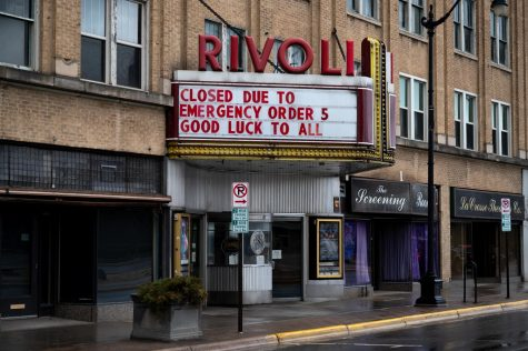 Rivoli Theater will be closed until further notice.