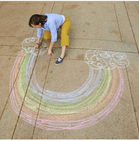 sidewalk chalk the racquet press