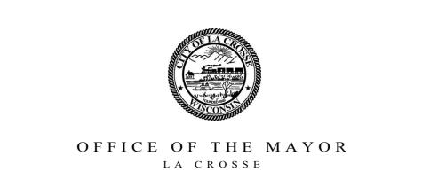 La Crosse Office of the Mayor logo.