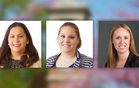 From left to right: Dr. Dina Zavala, Kara Ostlund and Charissa Jakusz.