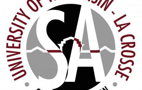 UWL Student Association logo.