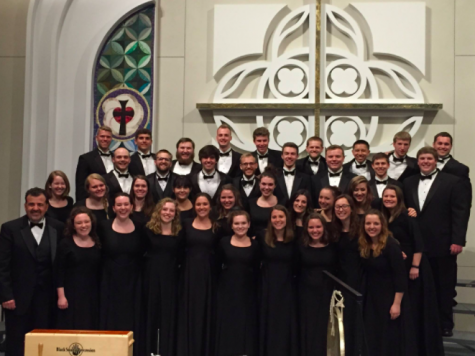 UWL Concert Choir (Photo retrieved from UWL Choirs Facebook page).