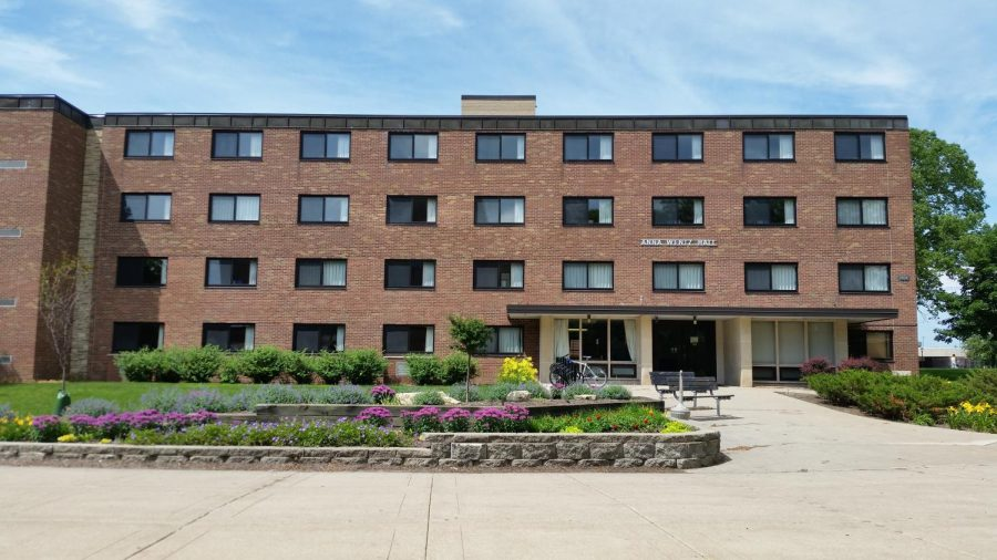 Wentz Hall. Image retrieved from the University of Wisconsin - La Crosse website.