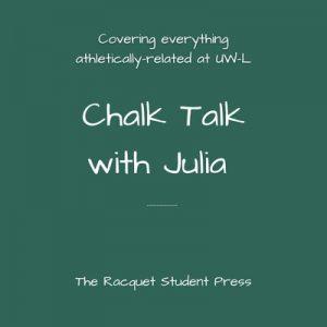 Chalk Talk with Julia podcast logo.