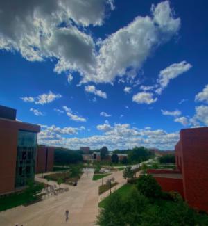 Pictured: Third floor of the Student Union. Photo taken by Liberti Jonas-Jongebloed.